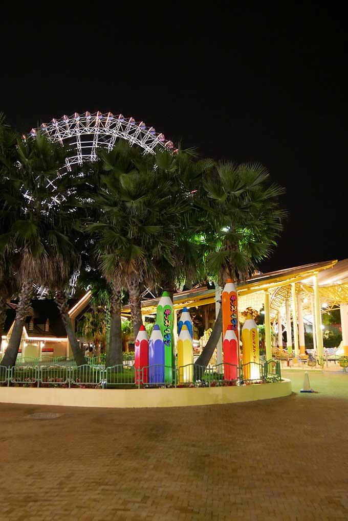 夜のチビッコ広場