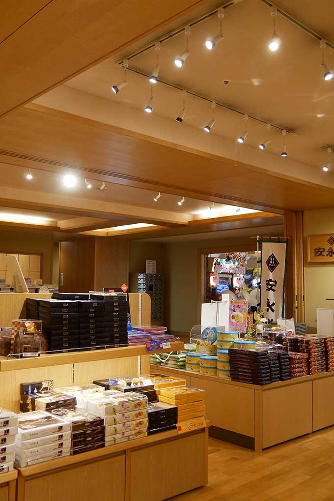 ホテルナガシマ3階(湯あみの島)お土産売り場