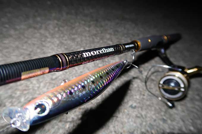 モアザン エキスパートAGS 87LMLの初釣行で大活躍!!