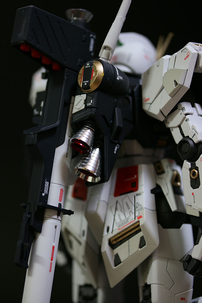 MG ニューガンダム Ver.ka 背面その2