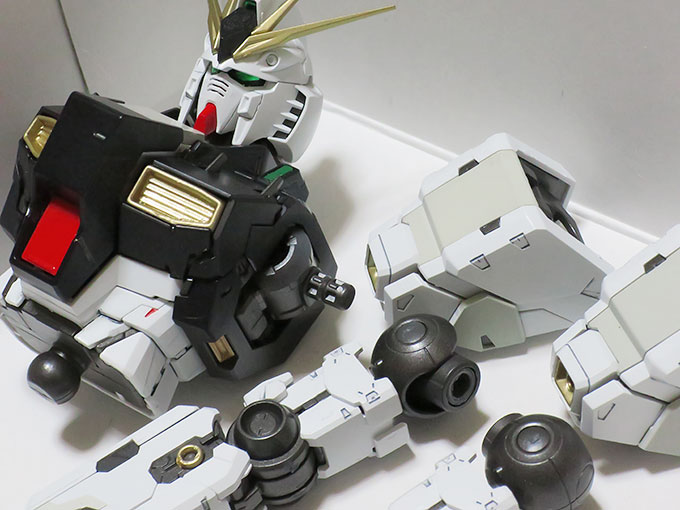 MG ニューガンダム Ver.ka 作成中