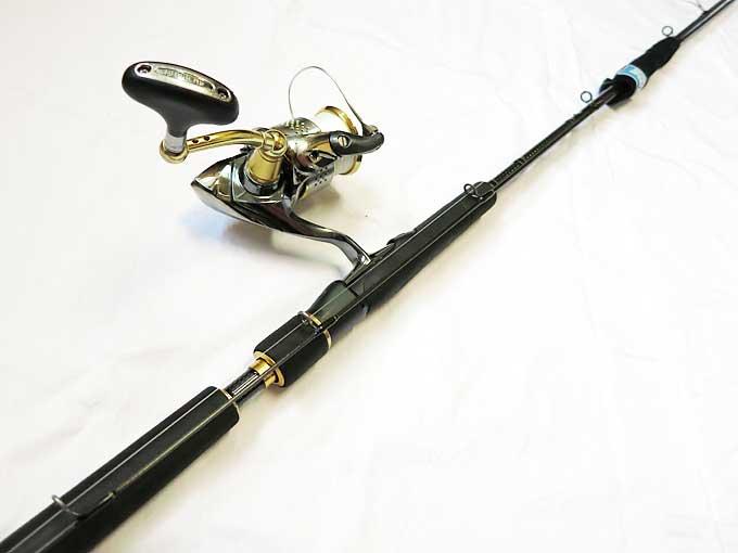 釣りに出掛ける前にスピニングタックルの準備