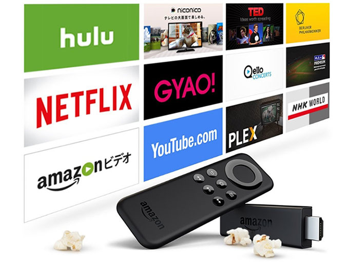 AmazonのFire TV Stickを購入
