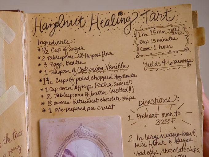 魔法のレシピ・癒やしのヘーゼルナッツ・タルト