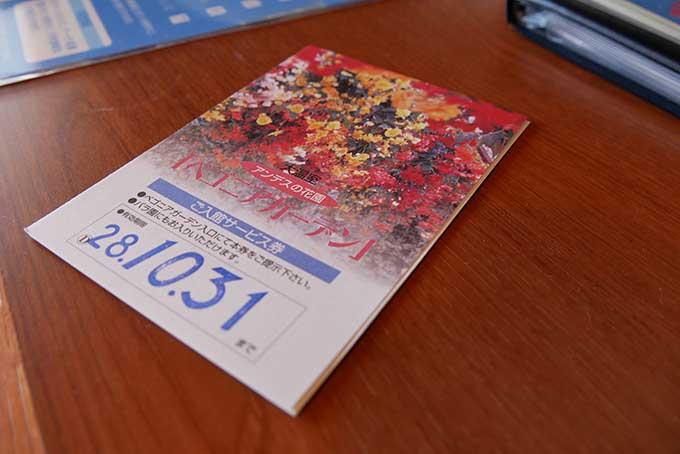 長島リゾート・ホテルナガシマの通行証