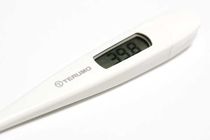 胃腸炎で続く高熱