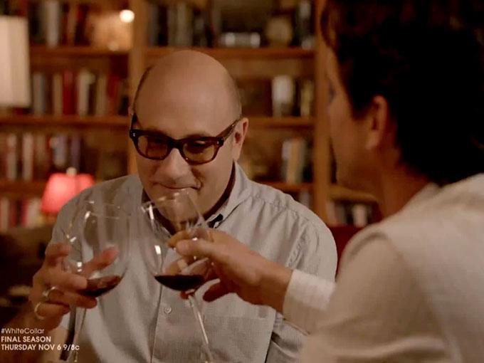 ワインを飲むシーンが多数