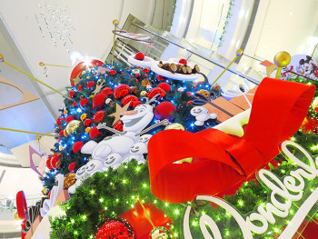 阪急西宮ガーデンズのクリスマスツリー!2015年版!!