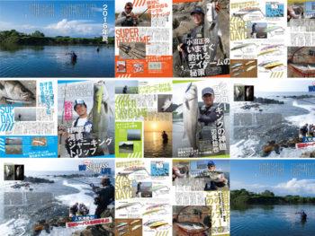 シーバス釣り専門雑誌「The SEABASS(ザ シーバス)」創刊!!